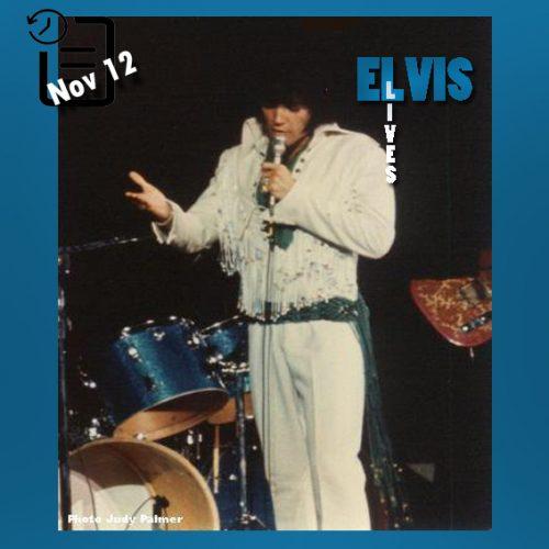 الویس در تالار بزرگ کولیسیوم واقع در شهر سیاتل ایالت واشینگتن چنین روزی 12 نوامبر 1970