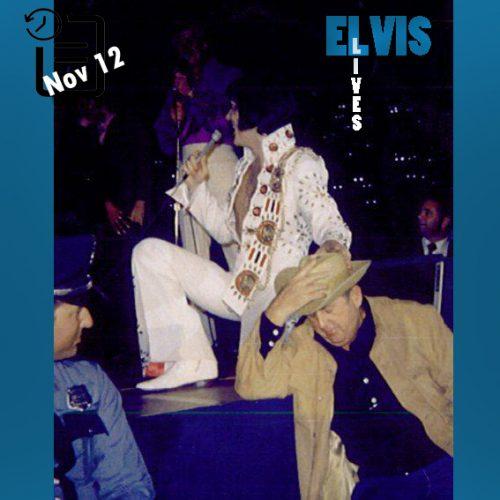 الویس در Hofheinz Pavilion در شهر هوستون ایالت تگزاس چنین روزی 12 نوامبر 1971