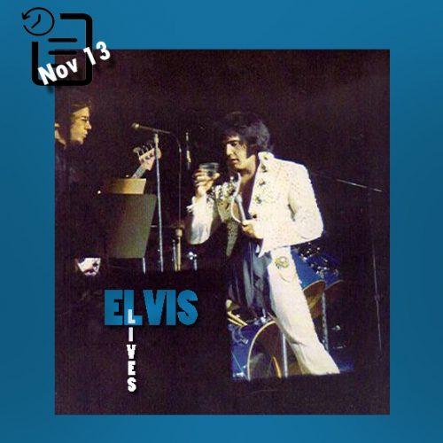 الویس در تالار همایشهای Memorial Auditorium واقع در دالاس تگزاس چنین روزی 13 نوامبر 1971