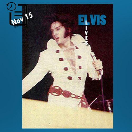 الویس در ورزشگاه بین المللی آرنا واقع در سن دیگوی ایالت کالیفرنیا چنین روزی 15 نوامبر 1970
