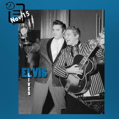 الویس و لیبریس دز هتل ریویرا لاس و گاس چنین روزی 15 نوامبر 1956