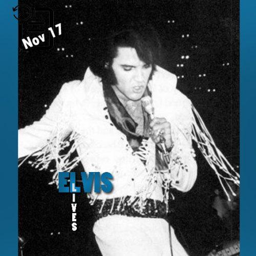 الویس در کلیسیوم بزرگ شهر دنور در ایالت کلرادو چنین روزی 17 نوامبر 1970