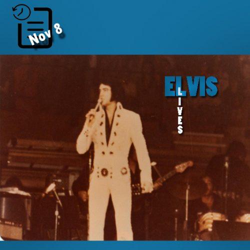 الویس در سالن Spectrum واقع در شهر فیلادلفیای ایالت پنسیلوانیا چنین روزی 8 نوامبر 1971