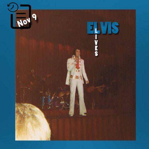 الویس در سیویک سنتر واقع در شهر بالتیمور در مریلند چنین روزی 9 نوامبر 1971