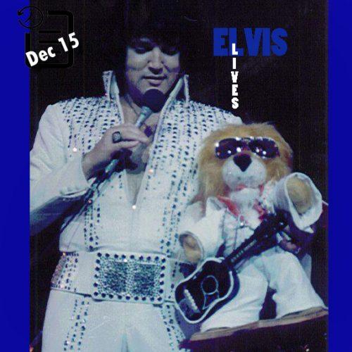 الویس در لاس وگاس چنین روزی 15 دسامبر 1975