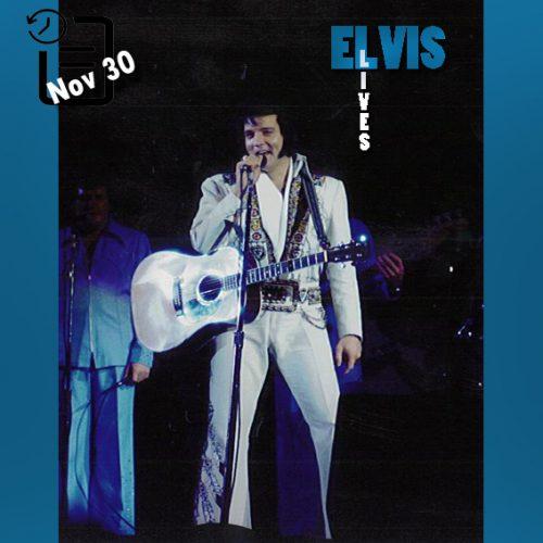 الویس در مرکز Convention Center واقع در آناهایم ایالت کالیفرنیا چنین روزی 30 نوامبر 1976