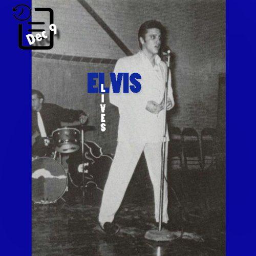 الویس در دبیرستان سوئیفتون آرکانزاس چنین روزی 9 دسامبر 1955