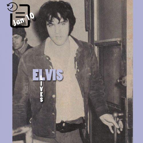 الویس در چنین روزی 10 ژانویه 1970