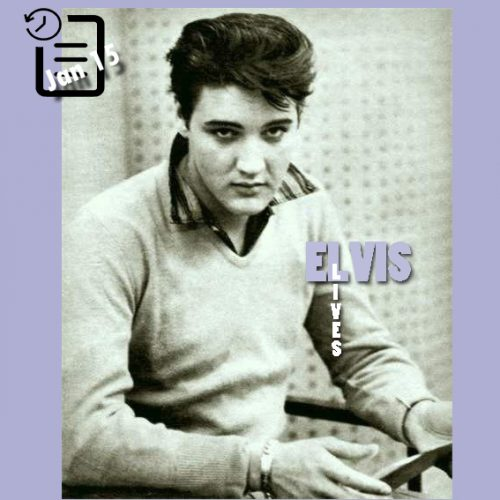 الویس در رادیو ریکوردز جهت ضبط ترانه های فیلم king creole چنین روزی 15 ژانویه 1958