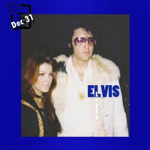 الویس در جشن شب سال نو در TJ کلوب چنین روزی 31 دسامبر 1970