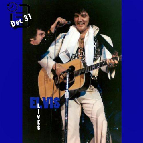 الویس در Civic Center واقع در آرنای پیتزبرگ ،پنسیلوانیا چنین روزی 31 دسامبر 1976