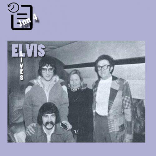 الویس و دوستان در کلرادو ژانویه 1976