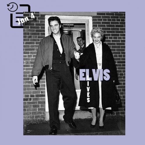 الویس و دوتی هارمونی در بیمارستان کندی وترانز  چنین روزی 4 ژانویه 1957