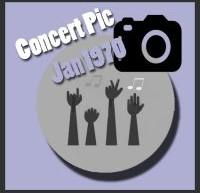 عکسهای کنسرتهای الویس پریسلی در ژانویه 1970