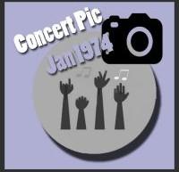 عکسهای کنسرتهای الویس پریسلی در ژانویه 1974