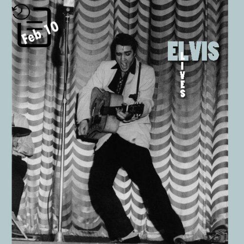 الویس در سالن تئاتر کارولینا واقع در شارلوت، کارولینای شمالی چنین روزی 10 فوریه 1956