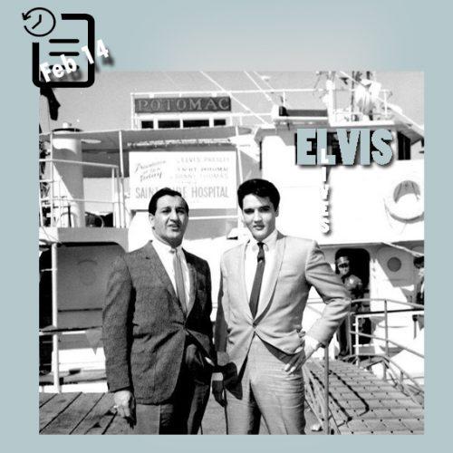 الویس و دنی توماس چنین روزی 14 فوریه 1964