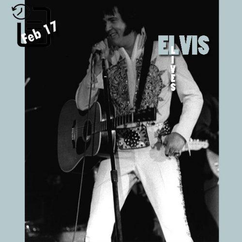 الویس در civic center شهر ساوانا، جورجیا 17 فوریه 1977
