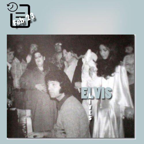 الویس در لاس و گاس چنین روزی 23 فوریه 1973
