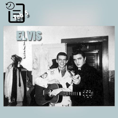 الویس و جاستین تب 9 فوریه 1956
