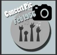 عکسهای کنسرتهای الویس پریسلی در فوریه 1956