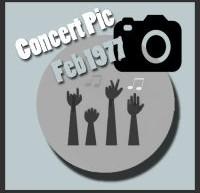 عکسهای کنسرتهای الویس پریسلی در فوریه 1977