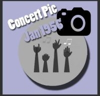 عکسهای کنسرتهای الویس پریسلی در ژانویه 1956