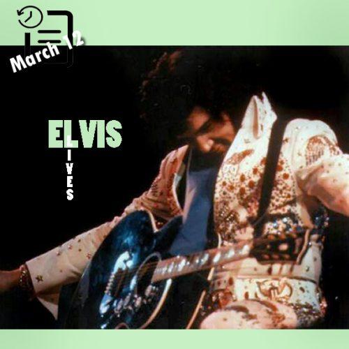 تصاویری از الویس در کنسرت سالن اجتماعات ریچموند ،ویرجنیا ،دوازدهم مارس 1974