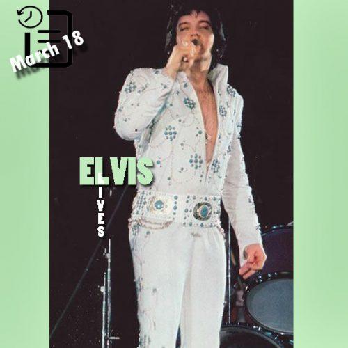الویس در سالن بزرگ، ریچموند، ویرجینیا 18 مارس 1974
