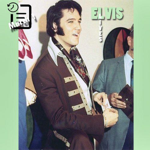 الویس در کنفرانس مطبوعاتی در تگزاس ،هوستون آسترودام چنین روزی اول مارس 1970
