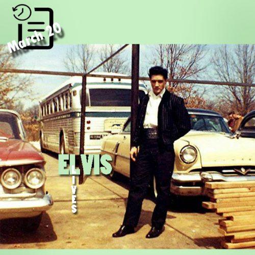 الویس در گریسلند چنین روزی 20 مارس 1960