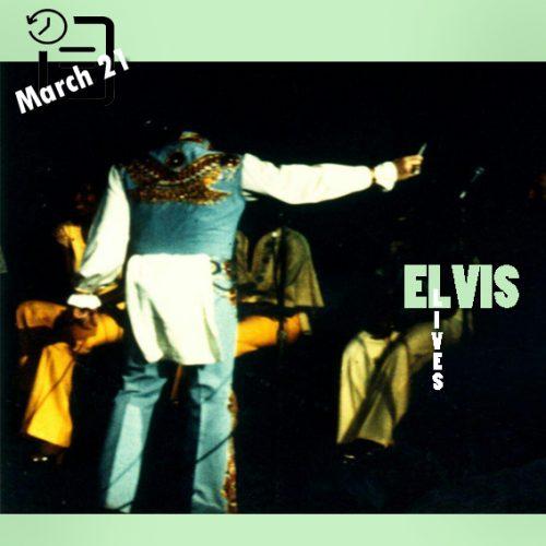 در این شو لباس الویس به هنگام اجرا از پشت پاره شد که الویس مجبور شد صحنه را ترک کند و با لباس دیگری بیاد چنین روزی 21 مارس 1976
