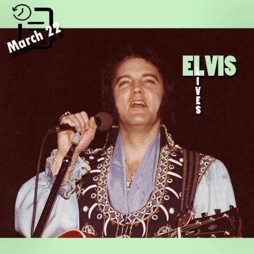 الویس در سالن کیل ، سنت لوئیس، میسوری چنین روزی 22 مارس 1976