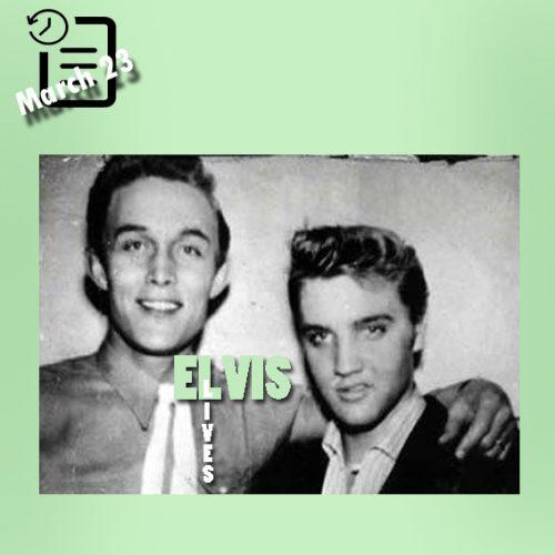 الویس با جیمی دین در چنین روزی  23 مارس 1956