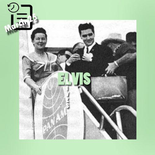 الویس و Minnie Pearl چنین روزی 25 مارس 1961