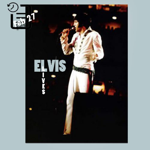 الویس در شوی سالانه تگزاس لیور استوک در هوستون آسترو دام چنین روزی 27 فوریه 1970