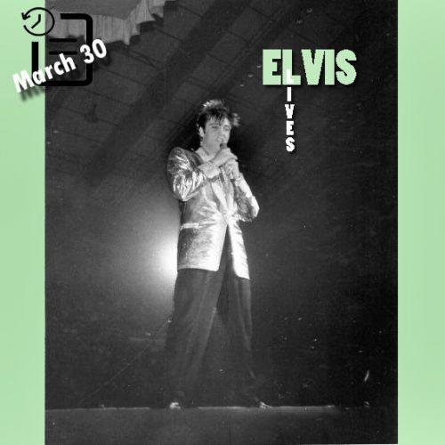 الویس در Memorial Coliseum، شهر فورت وین، ایندیانا چنین روزی 30 مارس 1957