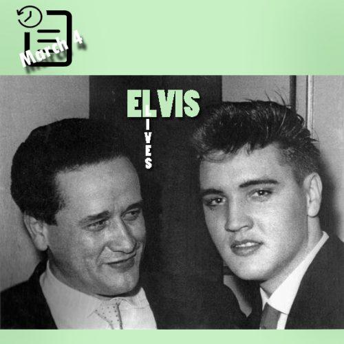 الویس در مولن روژ چنین روزی 4 مارس 1959