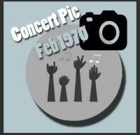 عکسهای کنسرتهای الویس پریسلی در فوریه 1970