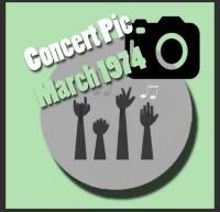 عکسهای کنسرتهای الویس پریسلی در مارس 1974