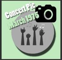 عکسهای کنسرتهای الویس پریسلی در مارس 1975