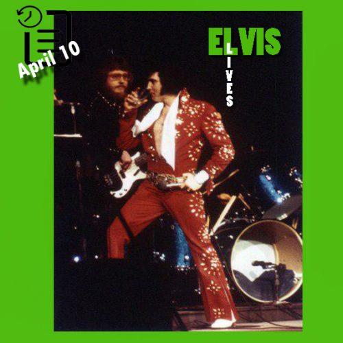 الویس در سالن بزرگ، ریچموند، ویرجینیا چنین روزی 10 آوریل 1972