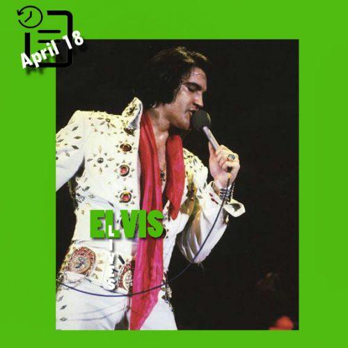 الویس در Convention Center Arena، شهر سن آنتونیو، تگزاس در چنین روزی 18 آوریل 1972