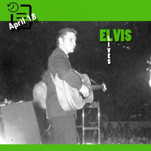 الویس در شهر تولسا، اوکلاهما چنین روزی 18 آوریل 1956