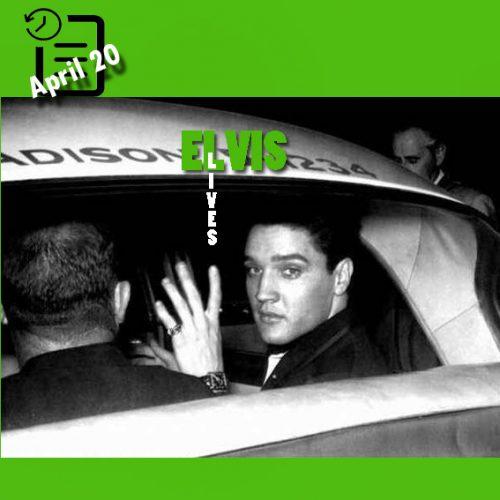 ورود الویس به لس آنجلس در چنین روزی 20 آوریل 1960