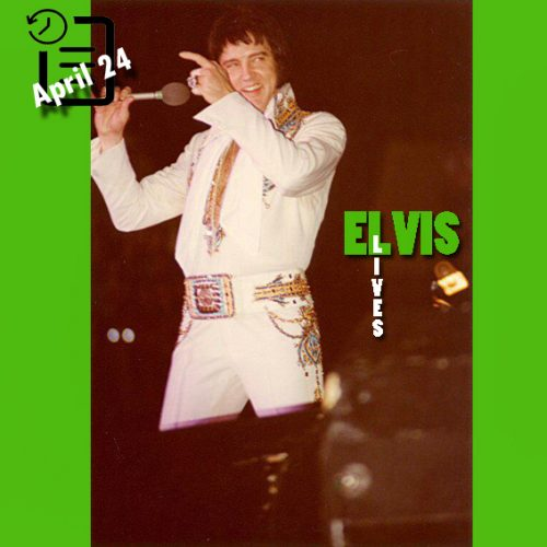 الویس در Crisler Arena، شهر آن آربور، میشیگان چنین روزی 24 آوریل 1977