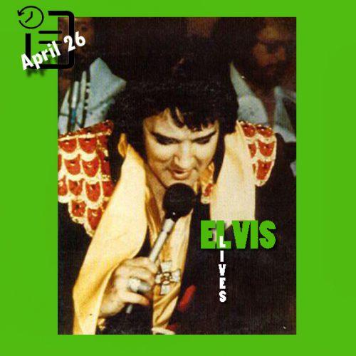 الویس در ساعت  2:30 بعد از ظهر  در سالن کورتیس-هیکسون شهر تمپا، فلوریدا چنین روزی 26 آوریل 1975