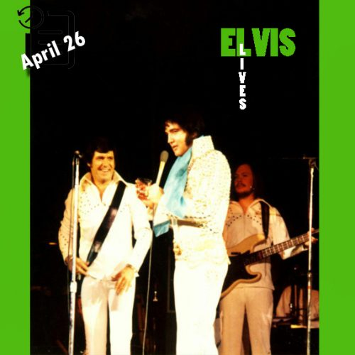 الویس در میدان ورزشی بین المللی شهر سن دیگو کالیفرنیا چنین روزی 26 آوریل 1973