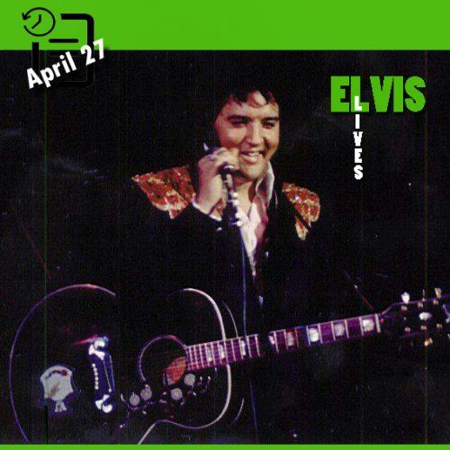الویس در ساعت 2:30 بعد از ظهر در Civic Center شهر لیک لند، فلوریدا ، چنین روزی 27 آوریل 1975