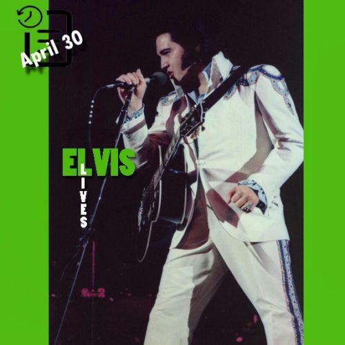 الویس در Omni شهر آتلانتا، جورجیا در چنین روزی 30 آوریل 1975